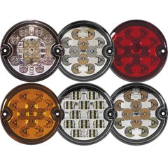 Runde LED Heckleuchten Ø95mm