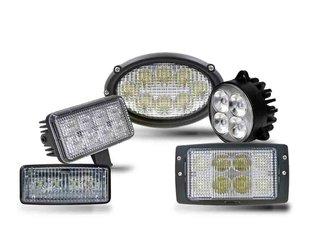 Einbau LED Arbeitsscheinwerfer Traktor