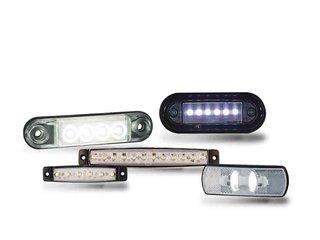 LED Vormarkierung Weiss