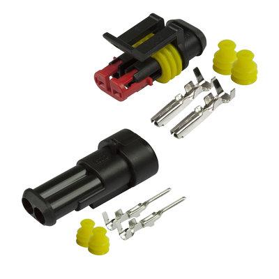 AMP Superseal Verbindingsset 2-pins