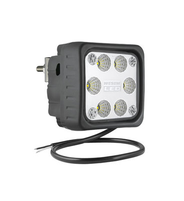LED Arbeitsscheinwerfer Breitstrahler 1500LM + Hinter montage