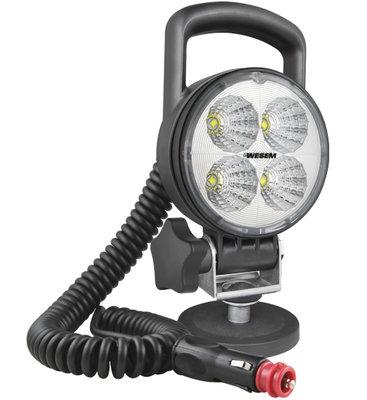 LED Arbeitsscheinwerfer Fernscheinwerfer 2000LM + Kabel + Zigaretten stecker + Stecker + Case