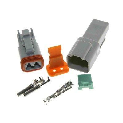 Deutsch-DT 2-pins connector
