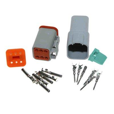 Deutsch-DT 6-pins connector