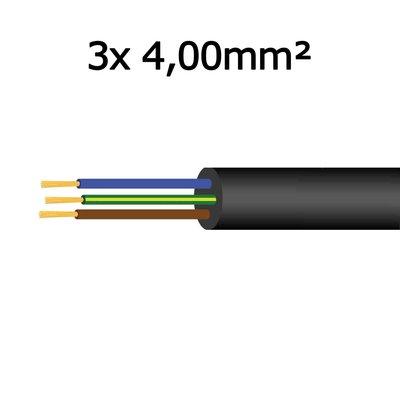 Kabel 3x 4,00mm²