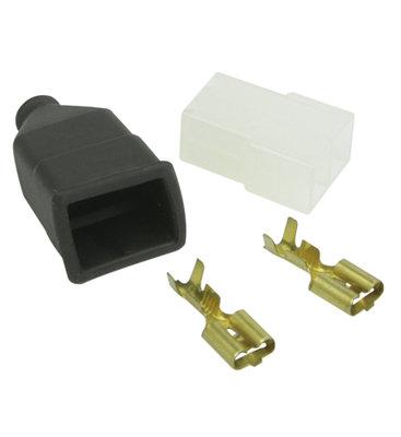 AMP-Faston 2-pins Stecker