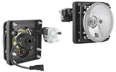 Hauptscheinwerfer Ø139/131x75, H4, elektrischer Korrektor