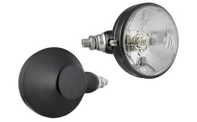 hauptscheinwerfer, H4, Ø161x112 metall links