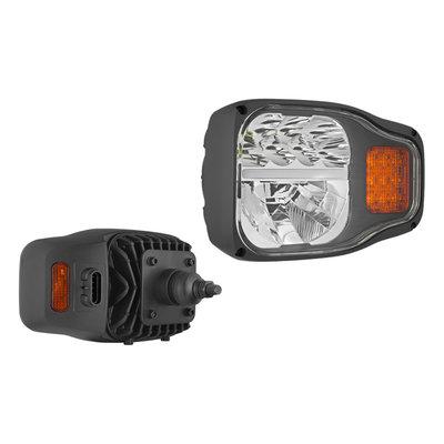 LED Hauptscheinwerfer mit rückwärtiger Halter Links + AMP-Superseal