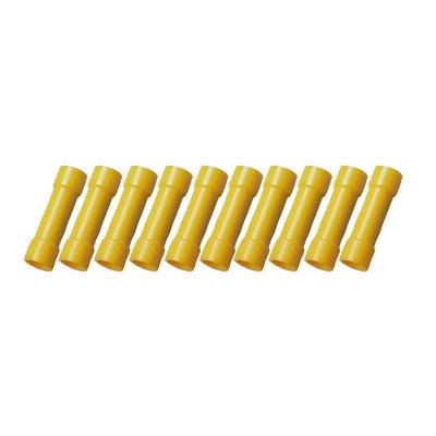 Stoßverbinder Gelb (4-6mm)