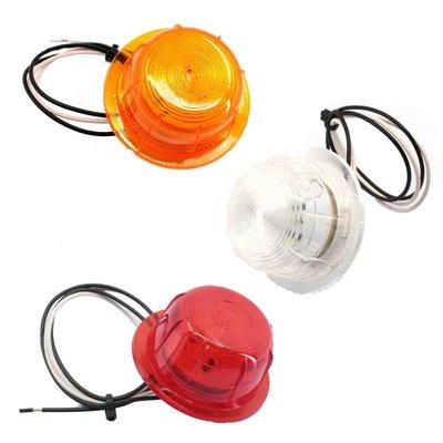 LED Begrenzungsleuchte unit rot, weiß und orange