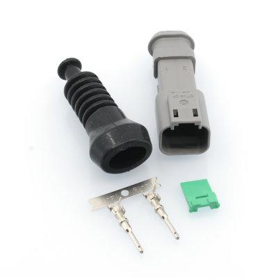 Male Deutsch-DT 2-pins Stecker + Rubber