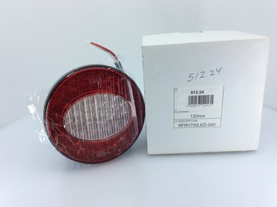 Perel LED Achterlicht 120mm 24V
