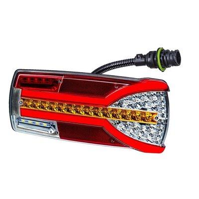 Horpol LED Rücklicht Rechts Carmen LZD 2305 + 7-Poliger Stecker