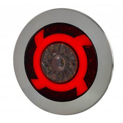 Horpol LED Rücklicht Chrom Lucy 122mm LZD 2425