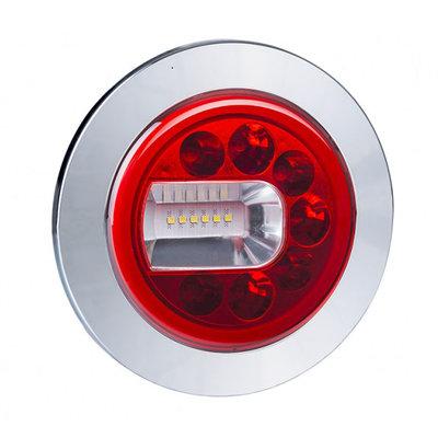 Horpol LED Nebel + Rückfahrscheinwerfer Chrom LUNA Links LZD 2452
