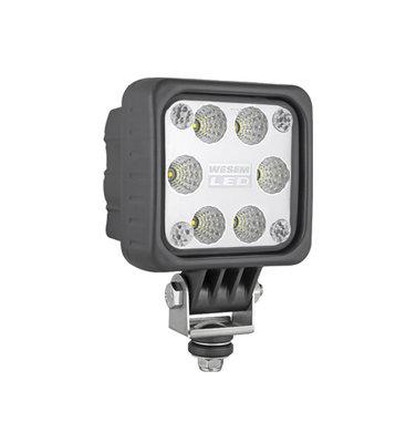 LED Arbeitsscheinwerfer Breitstrahler 10-60 Volt 2000LM + Kabel