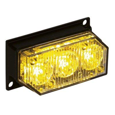 LED-Blitzleuchte mit 3 Leds Orange