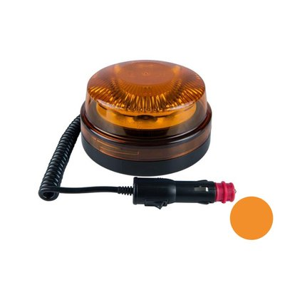 Led Warnleuchte Mit Magnetfuss Orange