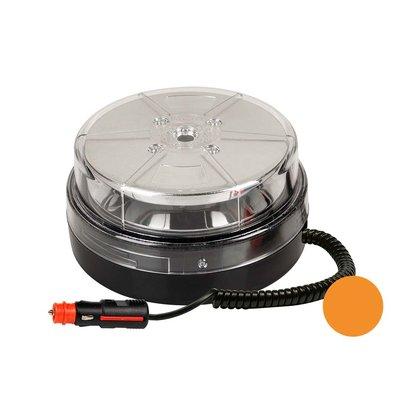 LED-Blitzlampe mit Magnetfuß Orange