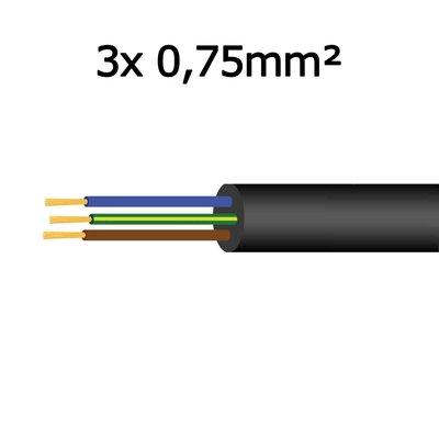 Kabel 3x 0,75mm²