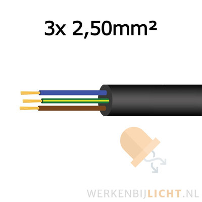 Kabel 3x 2,50mm²