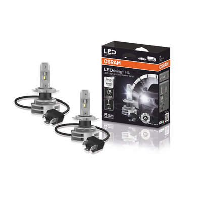 Osram H4 LED Hauptscheinwerfer P43t Satz 12-24 volt