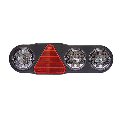 Led Rücklicht 7 Funktionen + Rückfahrscheinwerfer und  Nebelschussleuchte Rechts