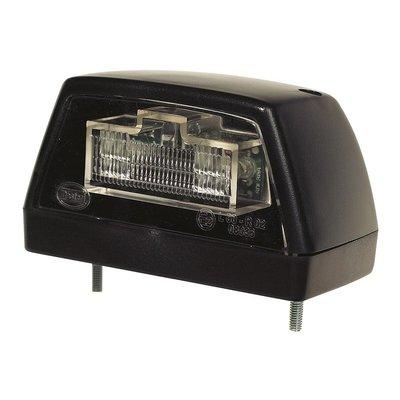 LED-Kennzeichenleuchte Schwarz 24V