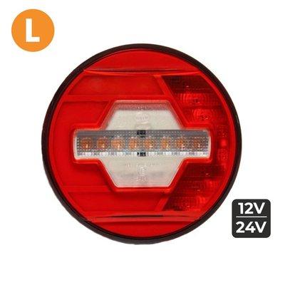 LED Heckleucht Links Ø140mm