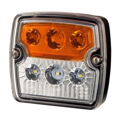 Horpol Kombinationsleuchte Eckige Vorne 12-24V LZD 2239