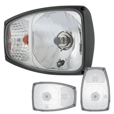 Scheinwerfer Mit Blinker Rechts + 12V Lampe