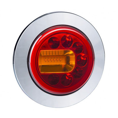 Horpol LED Rücklicht Links Chrome LUNA LZD 2446