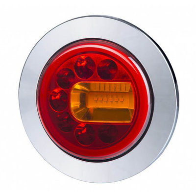Horpol LED Rücklicht Rechts Chrome LUNA LZD 2449