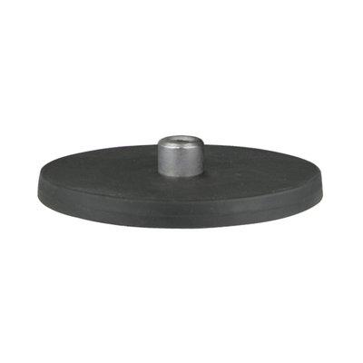 Neodym-Magnet 50 kg M6 mit Gummi