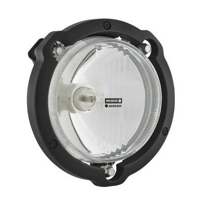 Rallye Fernlicht Mit Rahmen Ø122mm + Halogen Lampe