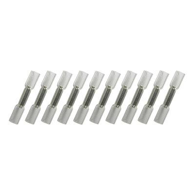 Wärmeschrumpfende Stoßverbinder Wasserdicht Weiss (0.2-0.5mm) 10 Stück