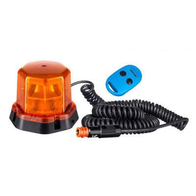 LED Blitzlampe Magnetisch Orange Mit Fernbedienung LDO 2278