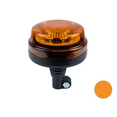 LED Warnleuchte Orange Mit Schwenkarm
