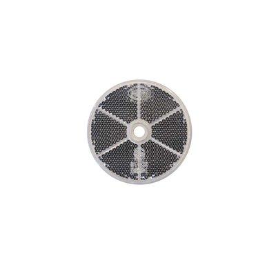 Runder Reflex - Reflektor Ø60mm Weiss