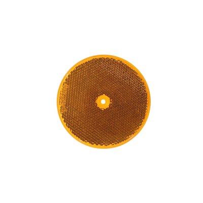 Runder Reflector Orange