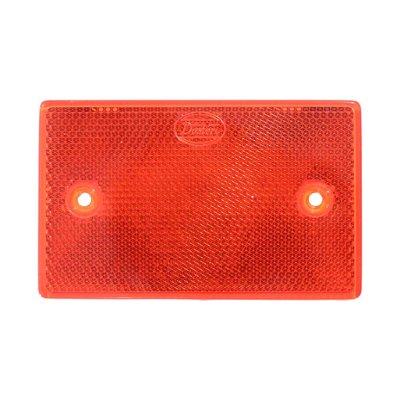 Reflektor-Rechteck 65X105mm Rot