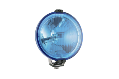 Wesem Halogen HOS2 Chrom Fernscheinwerfer Blau 24V (LED Ring)