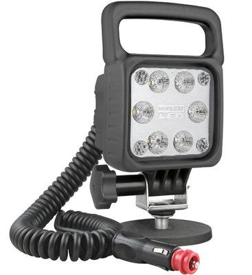 LED Arbeitscheinwerfer 2500LM Mit Magnethalter und Spiralkabel