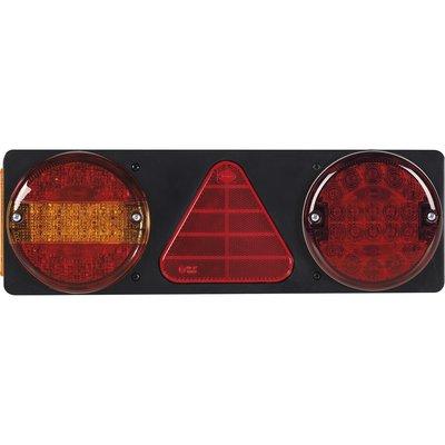 6 Funktionen hintere Led-Lampe rechteckig