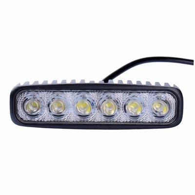 18W LED Arbeitsscheinwefer Rechteckig Basic