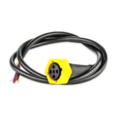 Kabel 5-poliger Bajonettanschluss Gelb 1 Meter