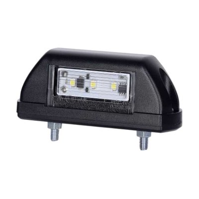 Horpol LED Kennzeichenbeleuchtung 12-24V Schwarz LTD 702