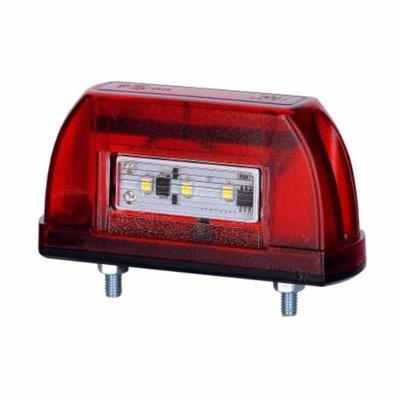 Horpol LED Kennzeichenbeleuchtung 12-24V Rot LTD 669