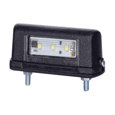 Horpol LED Kennzeichenbeleuchtung 12-24V Schwarz LTD 665